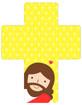 십자가와 예수님 템플릿