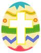 부활절알록달록달걀 템플릿