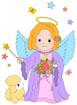 천사 템플릿