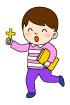십자가들고있는남자아이 템플릿