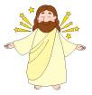 부활하신예수님 템플릿