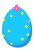 파란도트달걀 템플릿
