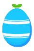 파란줄무늬달걀 템플릿