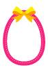 핑크달걀리본글상자 템플릿