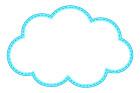 구름글상자 템플릿