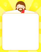 팔벌린예수님글상자 템플릿