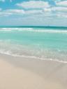 바다와 모래사장 템플릿