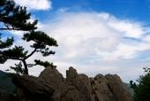 바위와 하늘 템플릿