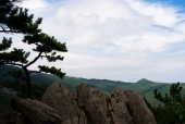 바위와 산 템플릿