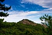 산과 바위 템플릿