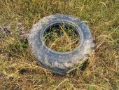 버려진 타이어 템플릿