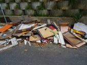 나무 쓰레기 템플릿