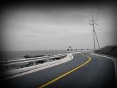 바다와 도로 템플릿