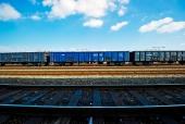 기차와 기차선로 템플릿