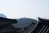 전통건물 지붕 템플릿