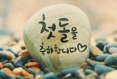 행운돌(첫돌을축하합니다) 일러스트/이미지