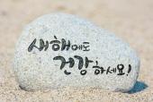 행운돌(새해에도건강하세요) 일러스트/이미지