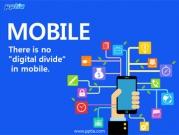 휴대폰과 비지니스아이콘 템플릿