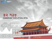 중국 자금성 템플릿