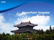 한국의 전통 건축물 템플릿