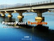 교각과 강 A 템플릿