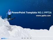 스키 템플릿