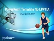 드리블 하는 농구선수 템플릿