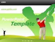 골프치는 사람 B 템플릿