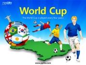 축구선수와 세계국기축구공 템플릿