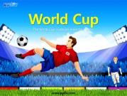 축구장과축구선수 템플릿