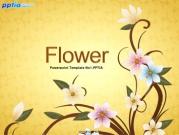 꽃 템플릿