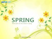 봄꽃 템플릿