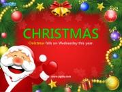 산타클로스와 크리스마스 트리 템플릿