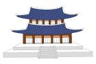 한국전통건물 일러스트/이미지
