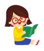 책을읽는소녀 일러스트/이미지