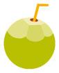 코코넛 일러스트/이미지