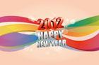 2012년 글자와 라인 템플릿