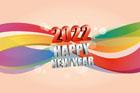 2022년 글자와 라인 템플릿
