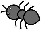 개미 일러스트/이미지