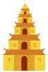 베트남전통건물 일러스트/이미지