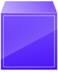 보라색입체글상자 템플릿