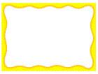 노란색물결글상자 템플릿