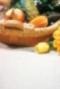 꽃과 과일바구니 템플릿