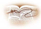 영문성경과 십자가목걸이 템플릿