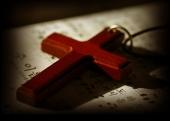 찬송가 위의 십자가 템플릿