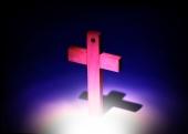 나무로 만든 십자가 템플릿