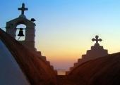 십자가와 계단 템플릿