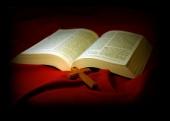 십자가와 성경전서 템플릿
