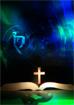 성경전서위에 십자가 템플릿