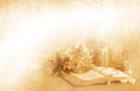성경책과 십자가 템플릿